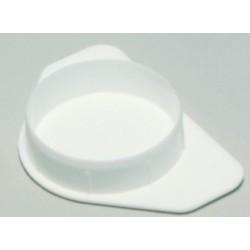 Peitetulppa 35mm valkoinen