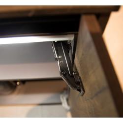Ohuen oven Clip Top sarana