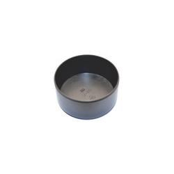 Ulkotulppa pyöreä U-12 musta