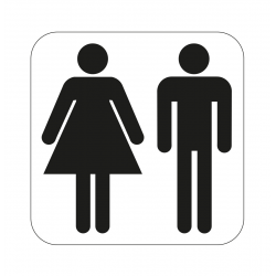 Wc-kyltti Miehet / Naiset...