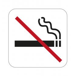 Tupakointi kielletty kyltti...