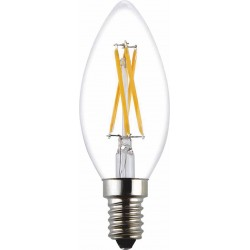 LED-lamppu Kynttilä, 4W,...