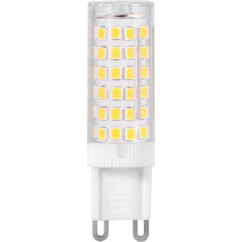LED-lamppu Polux G9, 4W, 4000K, läpinäkyvä